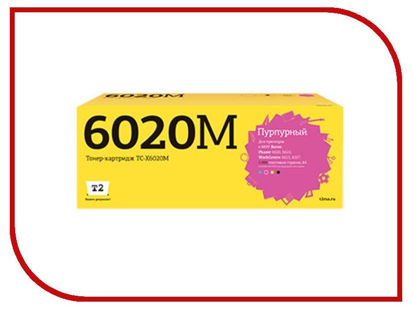 Картридж T2 TC-X6020M Magenta для Xerox Phaser 6020/6022/WorkCentre 6025/6027 с чипом картридж t2 tc x3210 для xerox workcentre 3210 3220 4100 стр с чипом