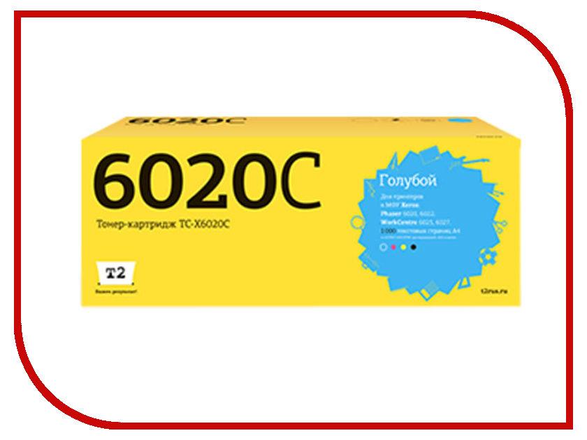 Картридж T2 TC-X6020C Cyan для Xerox Phaser 6020/6022/WorkCentre 6025/6027 с чипом картридж t2 tc x3210 для xerox workcentre 3210 3220 4100 стр с чипом