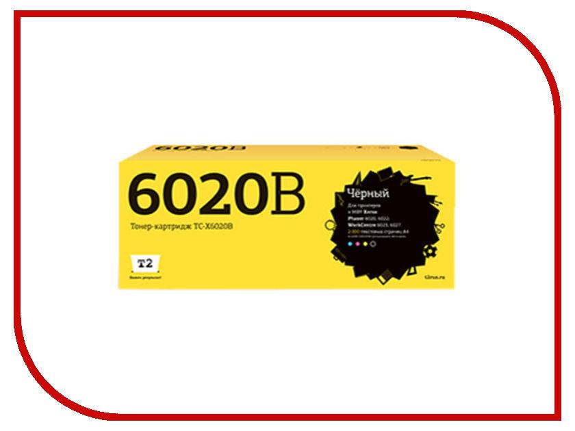 Картридж T2 TC-X6020B Black для Xerox Phaser 6020/6022/WorkCentre 6025/6027 с чипом картридж t2 tc x3210 для xerox workcentre 3210 3220 4100 стр с чипом