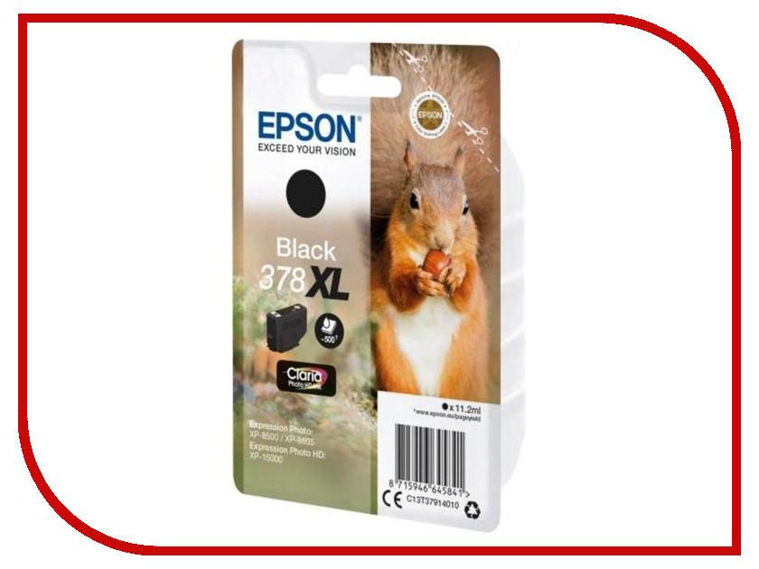 Картридж Epson 378XL Black C13T37914020 для XP-15000/XP-8500/XP-8505 suitable for north america t2001 ciss chip for epson xp 200 xp 300 xp 400 xp 510 printer arc chip for epson t2001 t2004