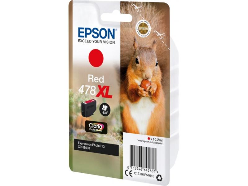 Картридж Epson 478XL Red C13T04F54020 для XP-15000