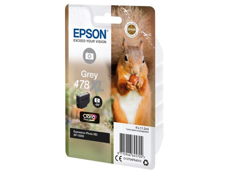 Картридж Epson 478XL Grey C13T04F64020 для XP-15000