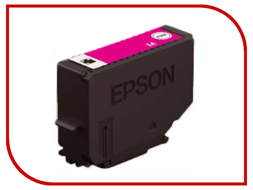 Картридж Epson 378XL Magenta C13T37934020 для XP-15000/XP-8500/XP-8505 suitable for north america t2001 ciss chip for epson xp 200 xp 300 xp 400 xp 510 printer arc chip for epson t2001 t2004