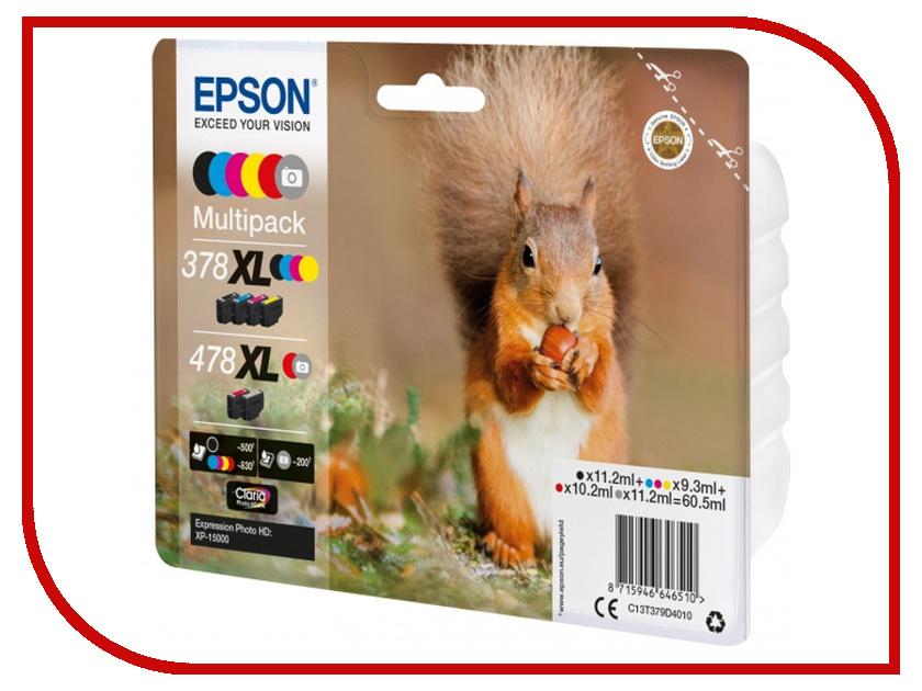 Картридж Epson 478XL Multipack C13T379D4020 для XP-15000