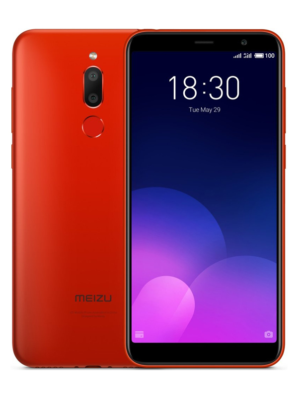 Фото - Сотовый телефон Meizu M6T 32Gb Red смартфон meizu m811h m6t 32gb черный