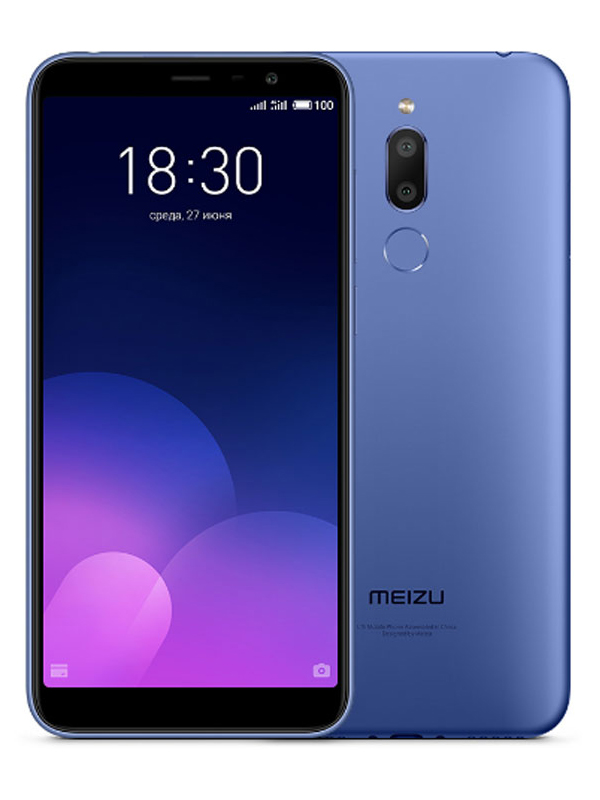 Фото - Сотовый телефон Meizu M6T 32Gb Blue смартфон meizu m811h m6t 32gb черный
