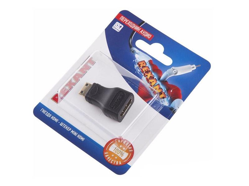 Фото - Аксессуар Rexant HDMI - miniHDMI 06-0175-A аксессуар