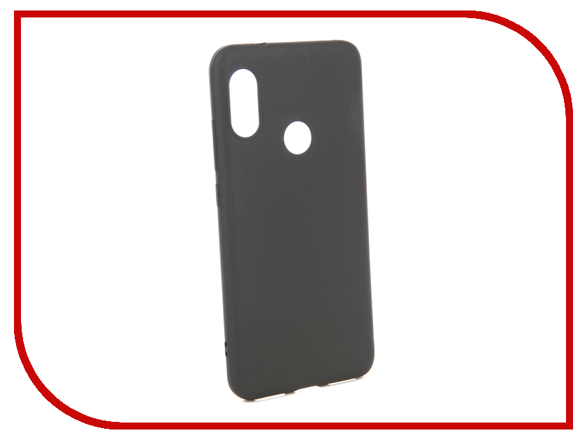 Аксессуар Чехол для Xiaomi Redmi 6 Pro X-Level Guardian Series Black 2828-166