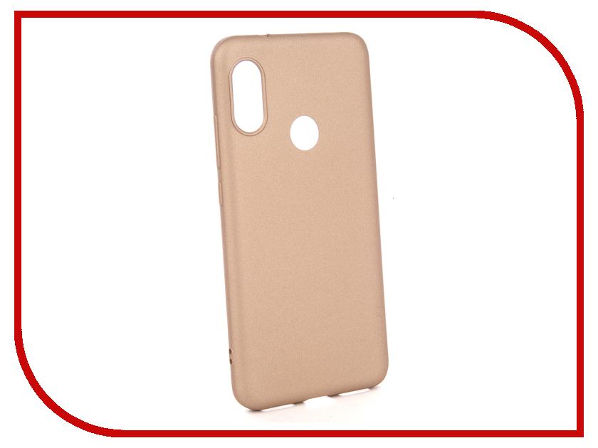 Аксессуар Чехол для Xiaomi Redmi 6 Pro X-Level Guardian Series Gold 2828-165 все цены