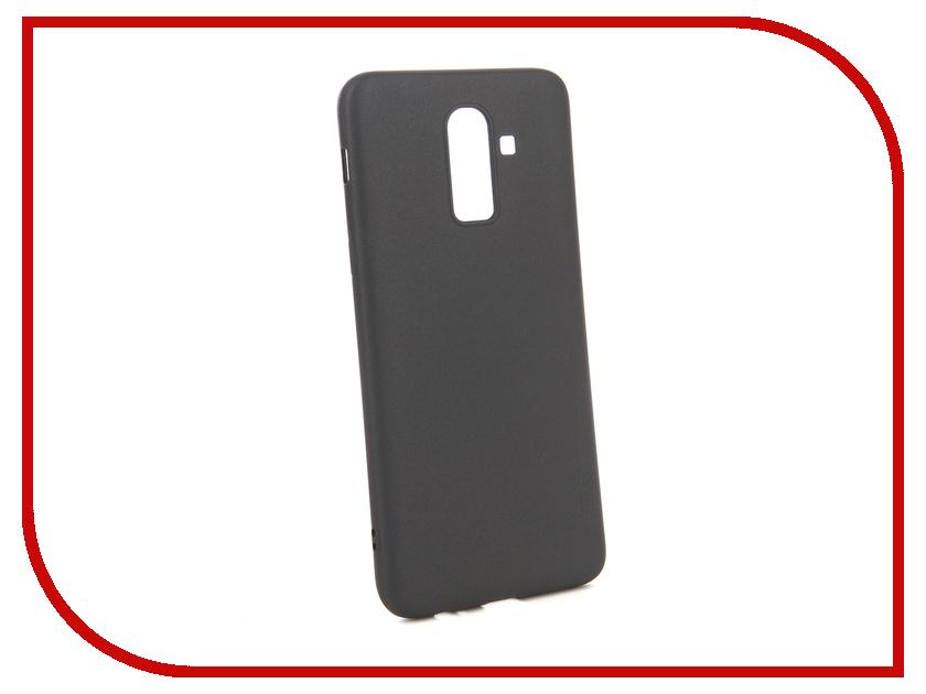 Аксессуар Чехол для Samsung Galaxy J8 2018 X-Level Guardian Series Black 2828-170 аксессуар чехол для samsung galaxy note 8 x level guardian blue 2828 045