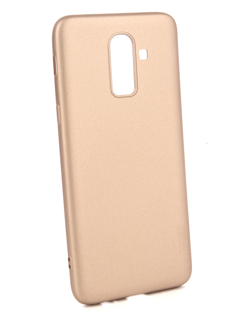 Чехол X-Level Guardian для Samsung Galaxy J8 2018 Series Gold 2828-169