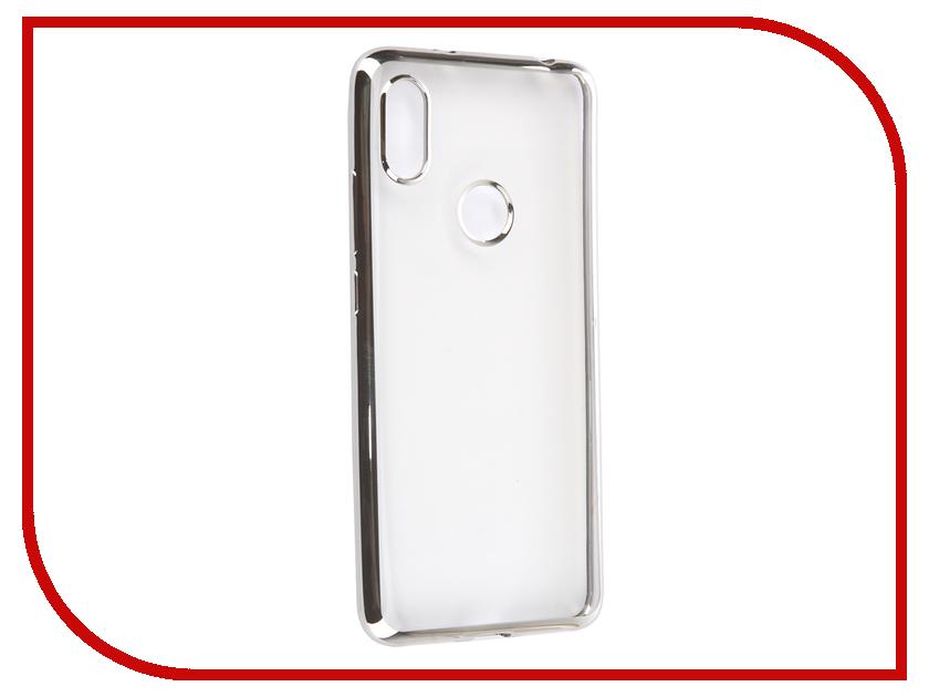 цены Аксессуар Чехол для Xiaomi Redmi S2 iBox Blaze Silicone Silver Frame УТ000015653
