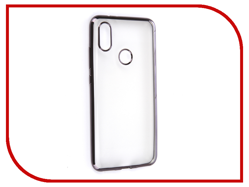 Аксессуар Чехол для Xiaomi Mi A2 / Mi6X iBox Blaze Silicone Black Frame аксессуар чехол xiaomi redmi 4x ibox blaze silicone silver frame