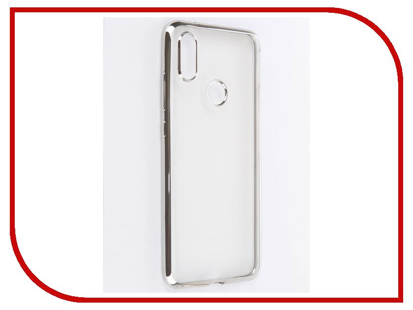 Аксессуар Чехол для Xiaomi Mi A2 / Mi6X iBox Blaze Silicone Silver frame цены онлайн