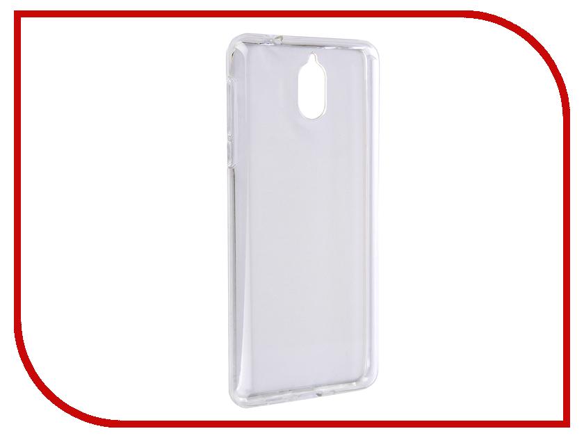 Аксессуар Чехол для Nokia 3.1 iBox Crystal Silicone Transparent аксессуар чехол nokia 3310 2017 ibox crystal silicone transparent