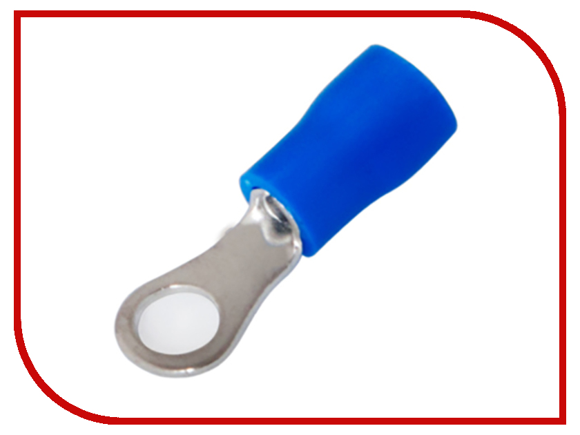 Наконечник кольцевой Rexant 10шт Blue 06-0418-A