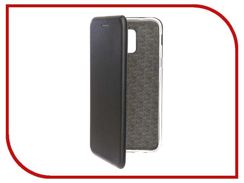 Аксессуар Чехол для Samsung Galaxy A6 Red Line Unit Black test alligator clips crocodile clamp red black size l 5 pairs