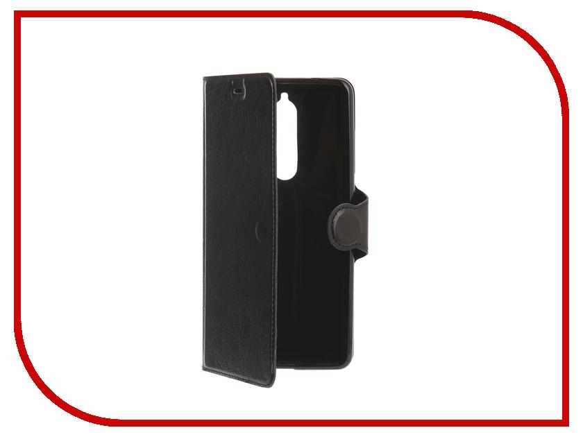 Аксессуар Чехол для Nokia 5.1 Red Line K.Smart Black УТ000015810 аксессуар чехол nokia x aksberry red