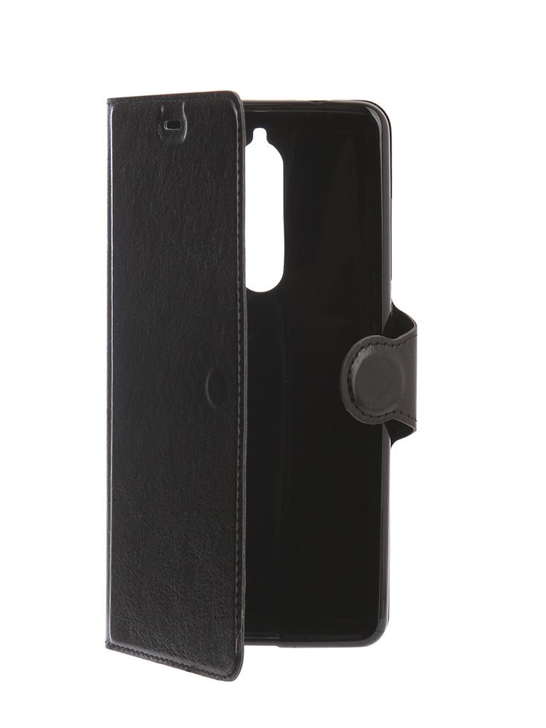 Аксессуар Чехол Red Line для Nokia 5.1 K.Smart Black УТ000015810 аксессуар чехол nokia x aksberry red