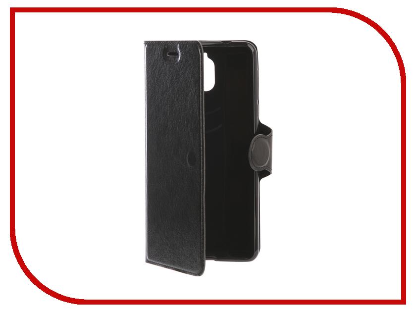 Аксессуар Чехол для Nokia 3.1 Red Line K.Smart Black УТ000015809 аксессуар чехол nokia x aksberry red