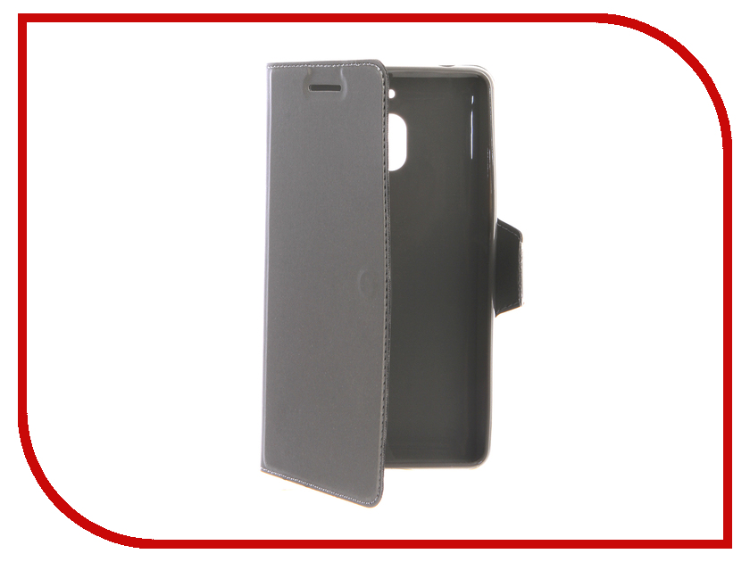 Аксессуар Чехол для Nokia 2.1 Red Line Book Type Dark Grey УТ000015962 аксессуар чехол nokia x aksberry red