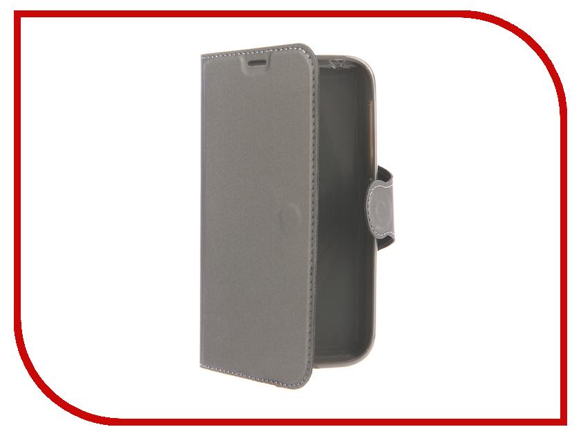 Аксессуар Чехол для Nokia 1 Red Line Book Type Dark Grey УТ000015961
