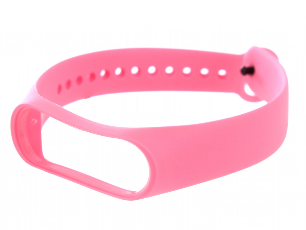 Aксессуар Ремешок Red Line for Xiaomi Mi Band 4 / 3 Silicone Pink