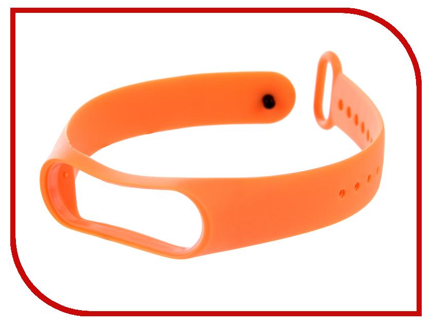 Aксессуар Силиконовый ремешок Red Line for Xiaomi Mi Band 3 Orange aксессуар силиконовый ремешок red line for xiaomi mi band 3 red