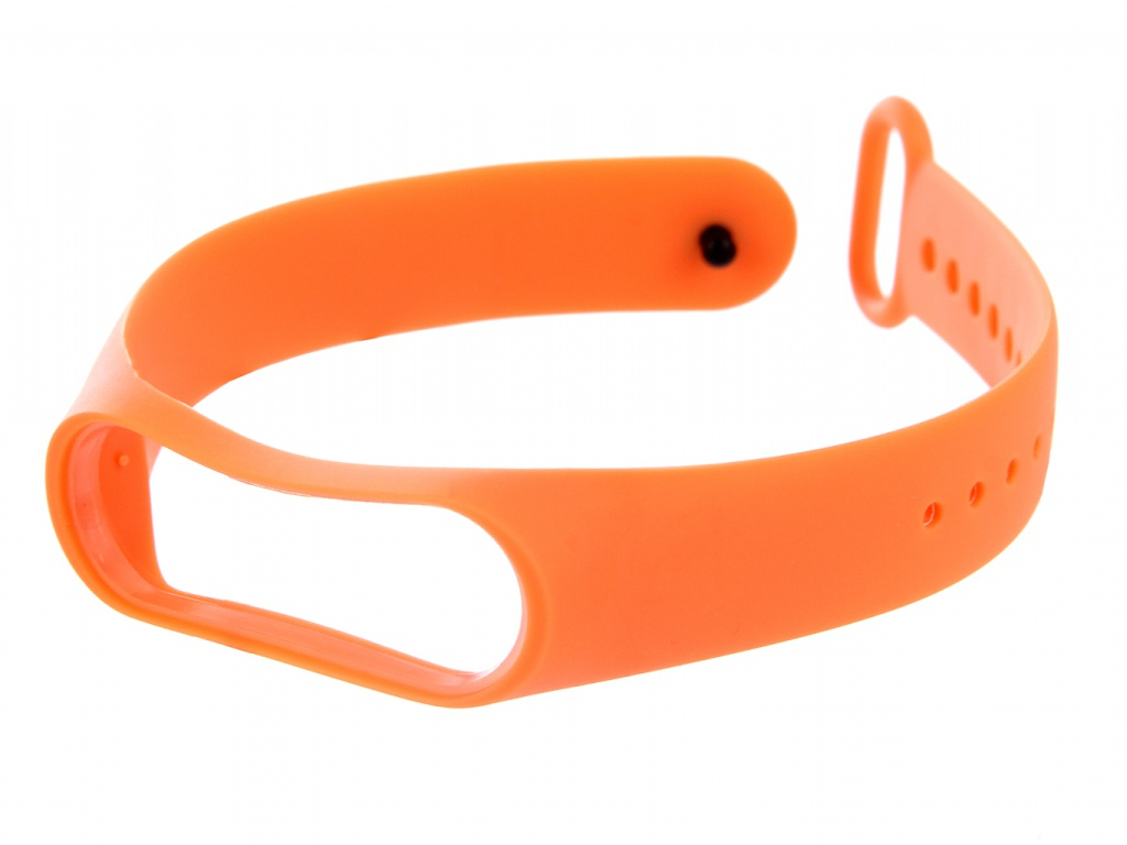 Aксессуар Ремешок Red Line for Xiaomi Mi Band 4 / 3 Silicone Orange