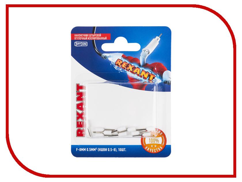 Наконечник штыревой втулочный Rexant 10шт White 06-0403-A цена