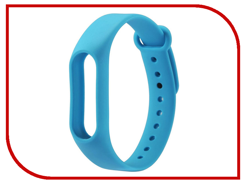 Aксессуар Силиконовый ремешок Red Line for Xiaomi Mi Band 3 Light Blue fashion silicone band red led water resistant wrist watch blue silver 1 x cr2032