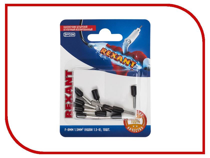 Наконечник штыревой втулочный Rexant 10шт Black 06-0406-A цена