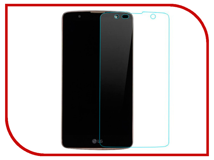 Аксессуар Защитное стекло для LG K11 Plus Red Line Tempered Glass compatible bare lamp 310 5027 for 3300mp
