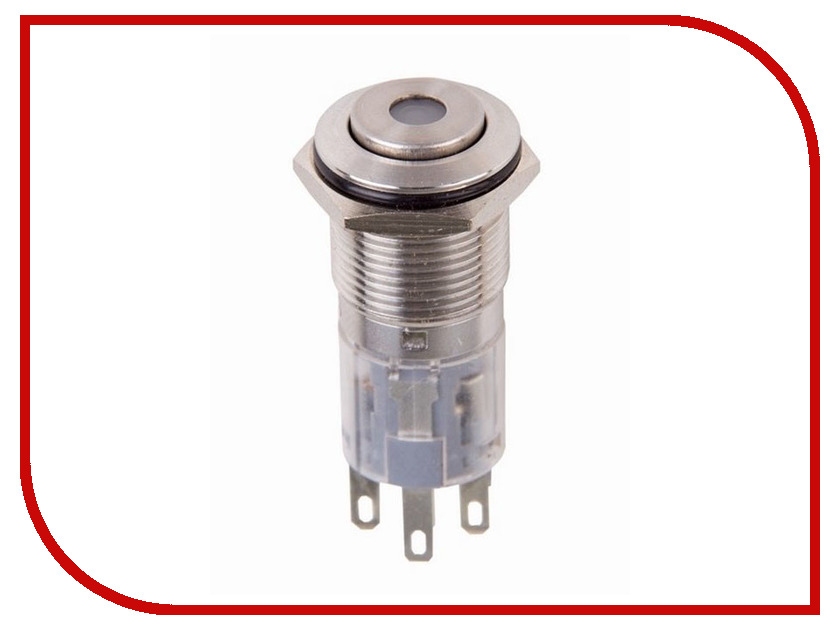 Выключатель Rexant 220V 3A (5с) Red 06-0354-A 1 220v 3a water paddle flow switch bspp thread connection spdt contacts red