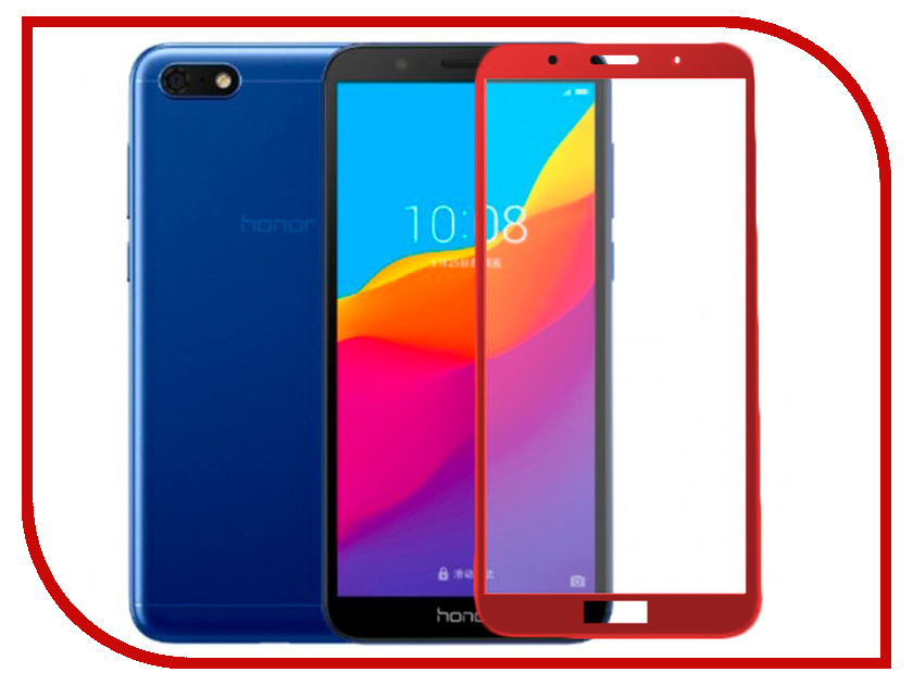 Аксессуар Защитное стекло для Huawei Honor Play Red Line Full Screen Tempered Glass Full Glue Red УТ000016005 аксессуар защитное стекло для huawei honor play 6 3 red line full screen 3d tempered glass black ут000016341