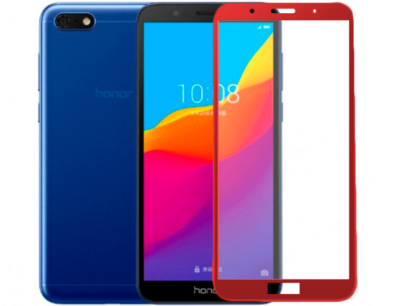 Аксессуар Защитное стекло Red Line для Honor Play Red Line Full Screen Tempered Glass Full Glue Red УТ000016005 red