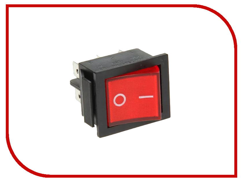 Выключатель Rexant 250V 15A (6c) Red 06-0305-B zndiy bry hfs 20 spdt ac 250v 15a water flow control switch red
