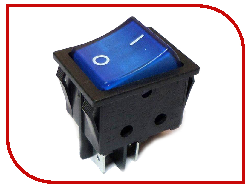 Выключатель Rexant 250V 16A (4c) Blue 06-0306-B rainbo brand free shipping wall power socket new outlet france standard crystal glass panel ac110 250v 16a wall socket a18fw b