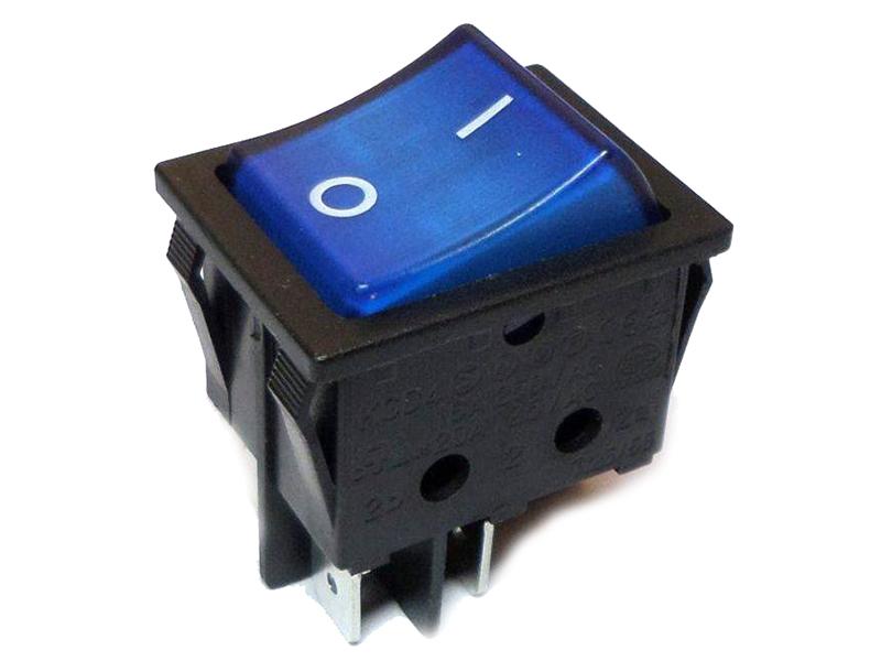 Выключатель Rexant 250V 16A (4c) Blue 06-0306-B