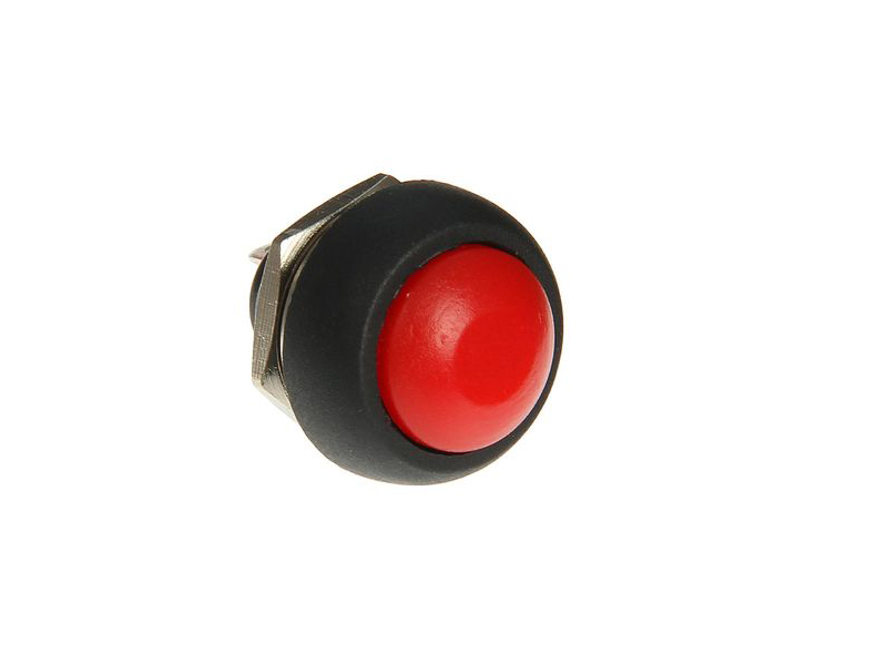 Выключатель Rexant 250V 1A (2c) Red 06-0316-A