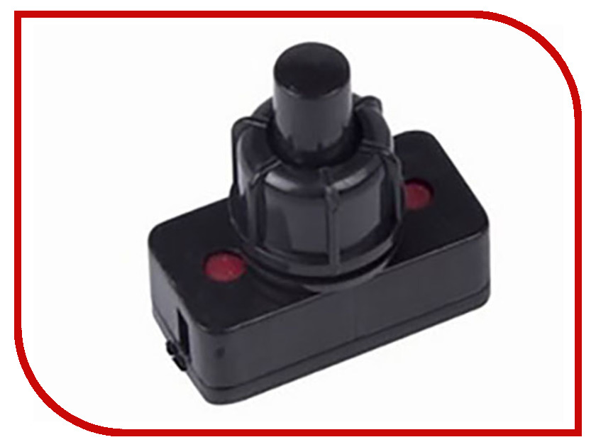 Выключатель Rexant 250V 1A (2c) Black 06-0312-A выключатель rexant 250v 3a 3c red 06 0310 a