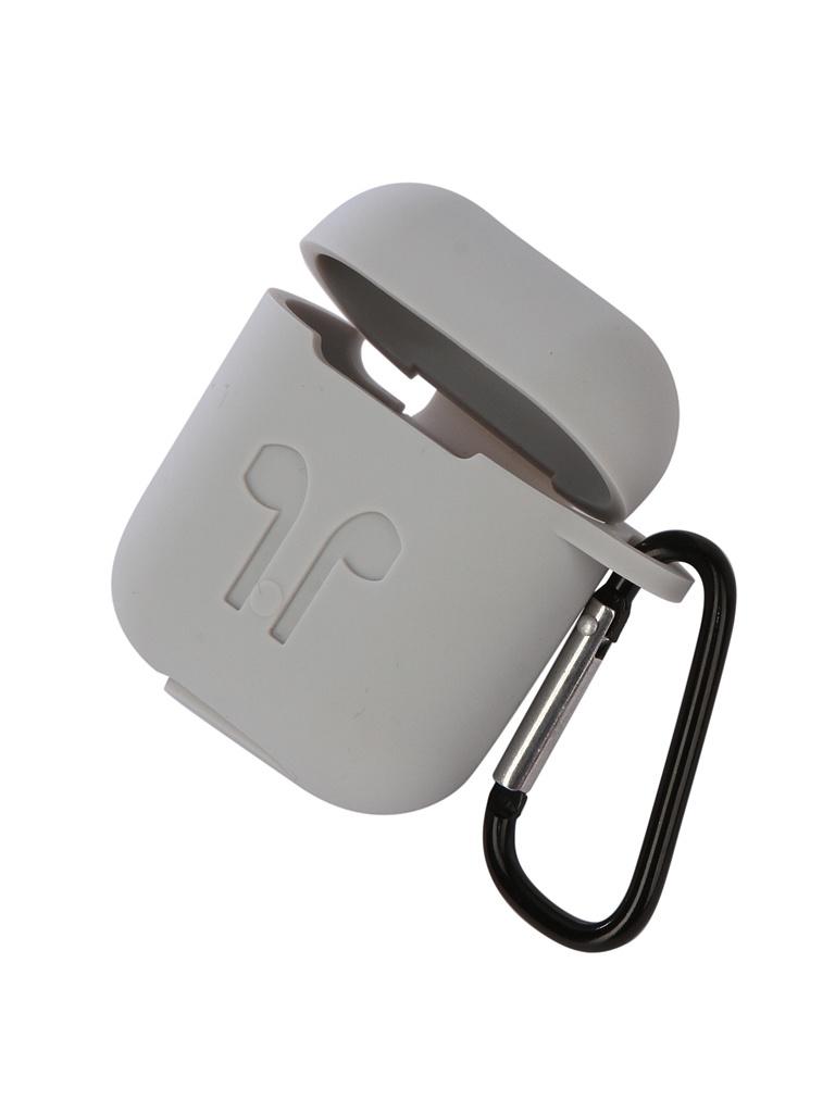Аксессуар Чехол Gurdini Soft Touch Silicone для APPLE Airpods Grey 906290