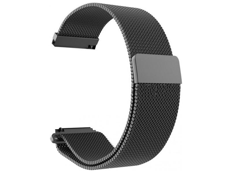 Аксессуар Ремешок Apres для Xiaomi Mi Amazfit Bip Metal Mesh Strap Black