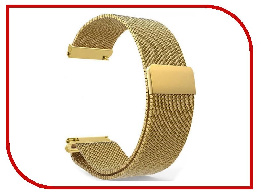 Аксессуар Ремешок Apres для Mi Amazfit Bip Metal Mesh Strap Gold luxury brand gold men business watch mesh steel waterproof lovers clock male quartz wrist watches simple relogio montre reloj