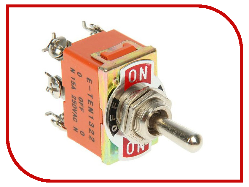 Выключатель Rexant 250V 15A (6c) 06-0328-B zndiy bry hfs 20 spdt ac 250v 15a water flow control switch red