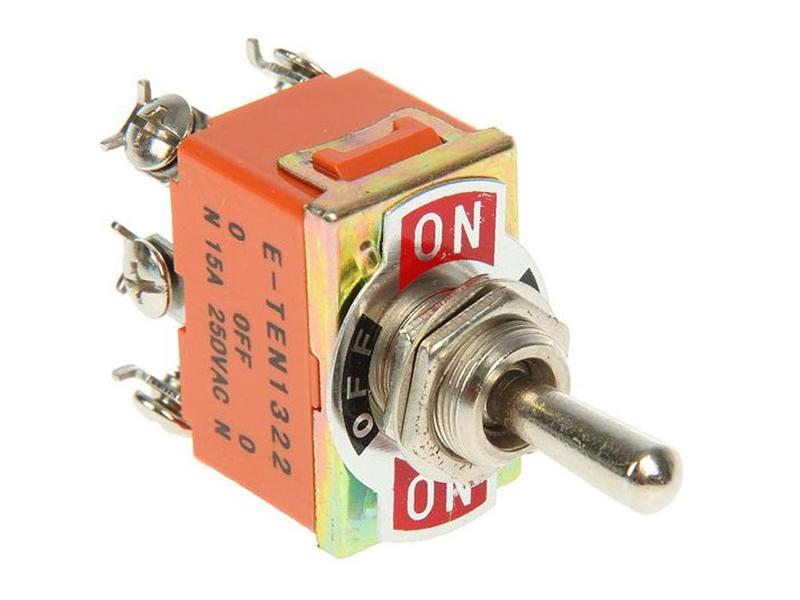 Тумблер Rexant 250V 15A (6c) 06-0328-B