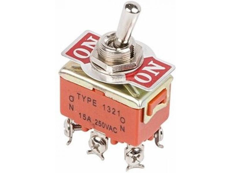 Тумблер Rexant 250V 15A (6c) 06-0327-B