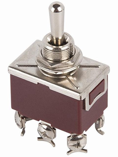 Тумблер Rexant 250V 6A (6c) 06-0329-B