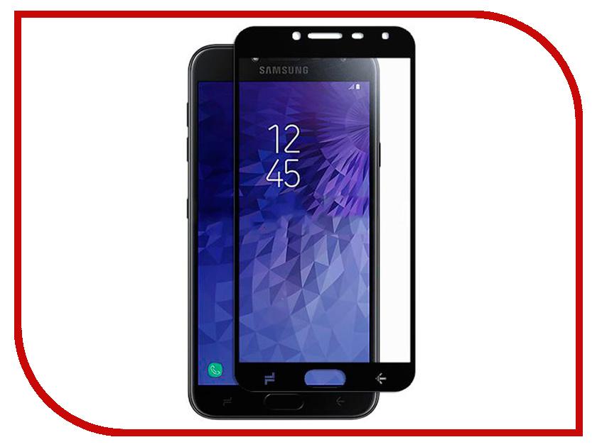Аксессуар Защитное стекло для Samsung Galaxy J4 Pero 2.5D Black PRMG-GJ4B