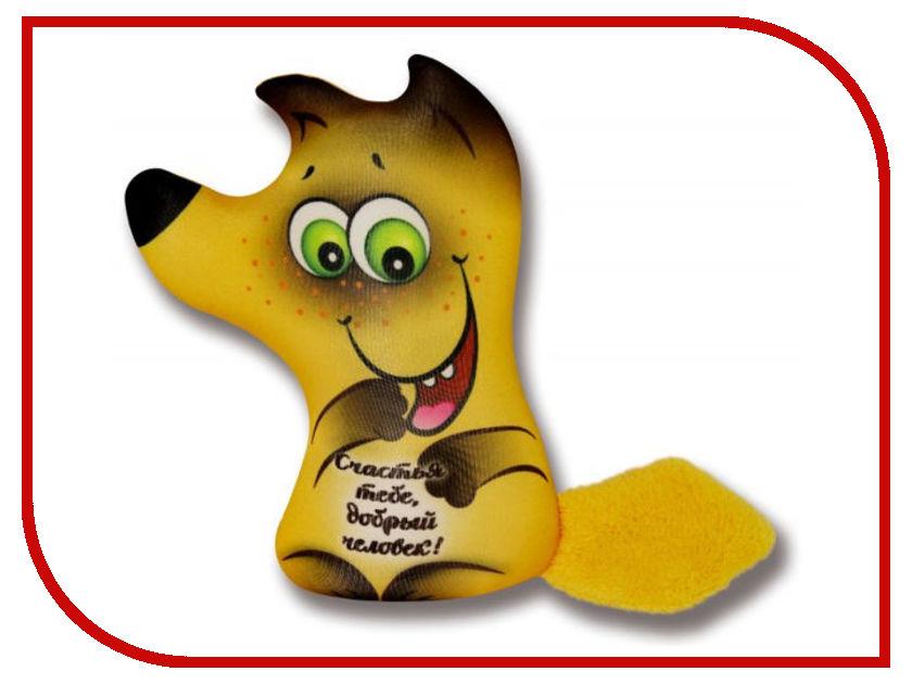 Игрушка антистресс Штучки к которым тянутся ручки Лиса открытка В ассортименте 18асо03ив открытка со стикерами в ассортименте